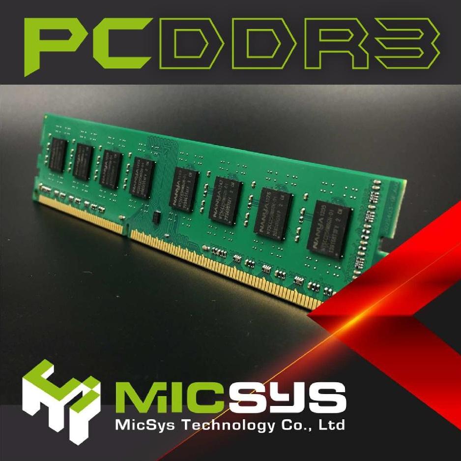 Desktop Ram】4GB DDR3 1333mhz Unbuffered Dimm(DDR3) | MicSys